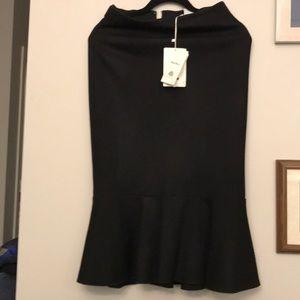 $635 Maxmara Jersey Wool Skirt Size 6